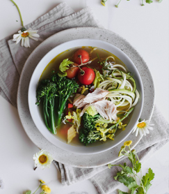 Homestyle Chicken Broth Bowl