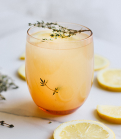 Lemon Thyme Chicken Broth